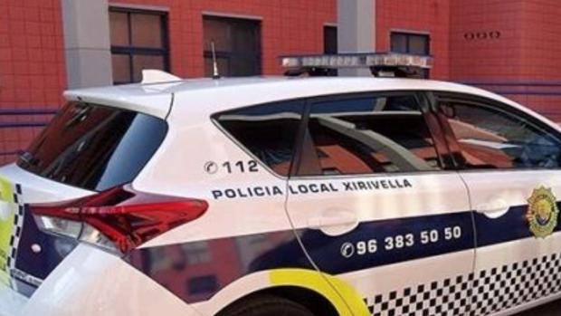 Coche de Policía Local en Chirivella (Valencia)