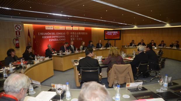 La reunión de ambos gobiernos, patronales y empresarios, ayer en el Ministerio