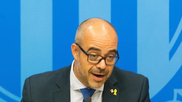 El consejero de Interior de la Generalitat, Miquel Buch, en una foto de archivo