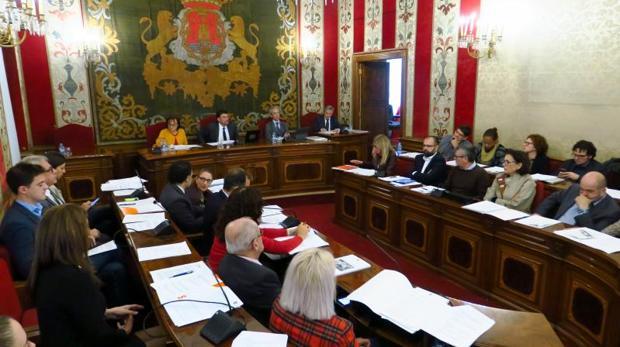 Sesión plenaria celebrada este jueves en Alicante