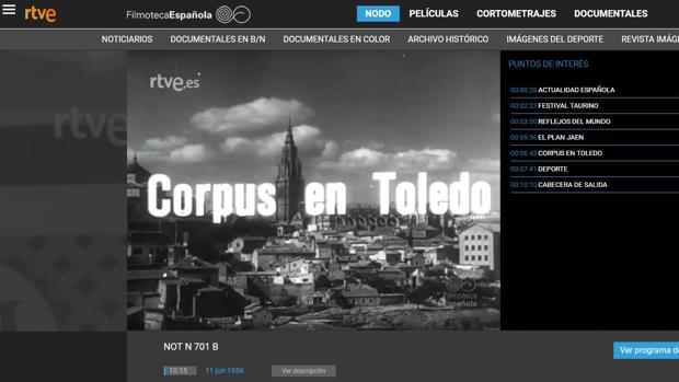 Los fondos del popular NO-DO están abiertos al libre acceso de los ciudadnos en una web que gestiona la Filmoteca Española y la RTVE