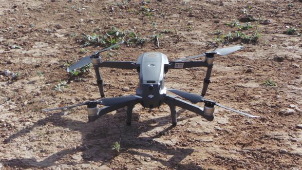 Dron de la Policía Local de Cheste, en una foto difundida por la Mancomunidad de la Hoya de Buñol-Chiva