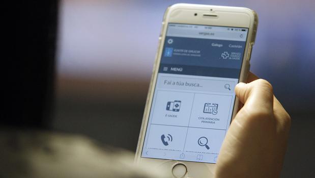 Consulta del historial médico a través del móvil