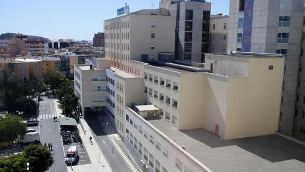Exterior del Hospital General de Alicante
