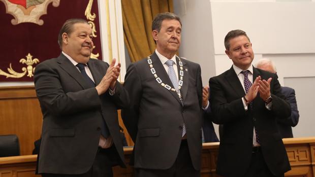 Jesús Fernández Vaquero, Francisco Cavlo Cirujano y Emiliano García-Page
