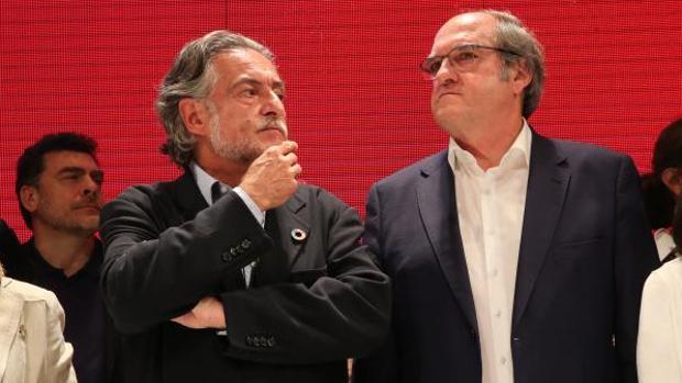 Pepu Hernández y Ángel Gabilondo, el pasado domingo