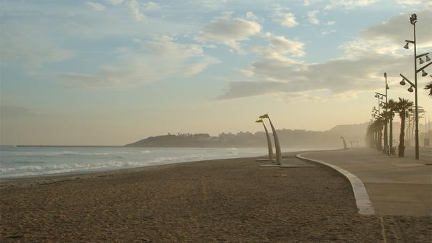 La playa de Vilaseca en Tarragona