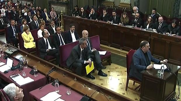 Junqueras expresa su último palabra en el juicio contra los líderes del plan secesionista ilegal