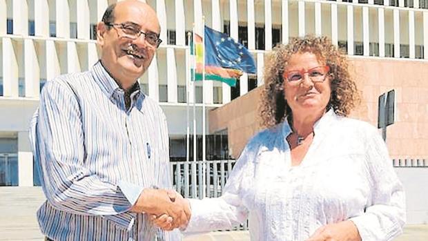 Bartolomé Guerra (PP) y Francisca García (PSOE)
