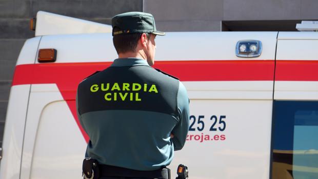Imagen de archivo de un agente de la Guardia Civil de Alicante, encargada de investigar el suceso
