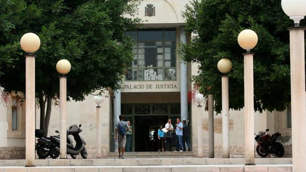 Imagen de archivo de los juzgados de Alicante