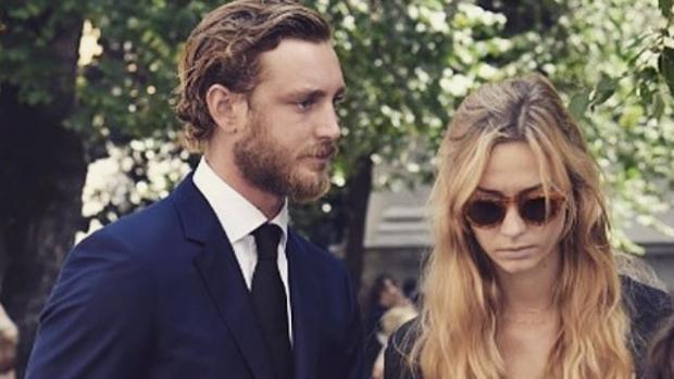Pierre Casiraghi viajó hasta Milán para acompañar a su mujer en los duros momentos