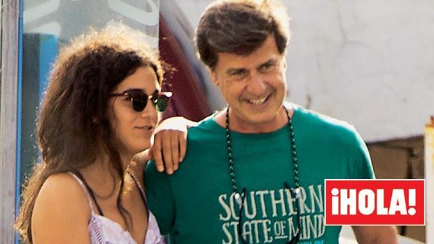 Bárbara Mirjan y Cayetano Martínez de Irujo en Marbella