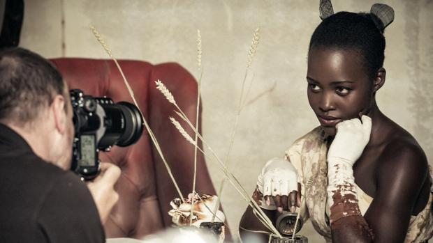 La actriz Lupita Nyong'o