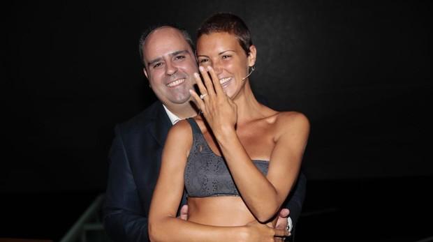 María Jesus Ruiz y su novio, Julio Ruz
