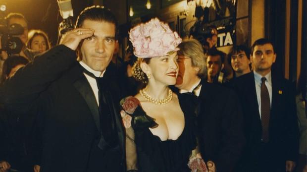Antonio Banderas y Madonna