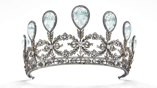 La tiara de Fabergé