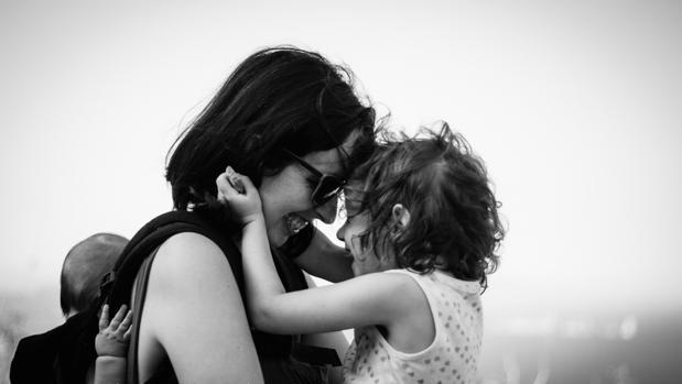 Bei con sus hijas
