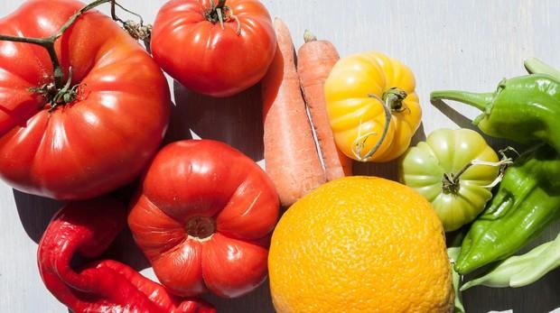 Las frutas y las hortalizas hacen que no resulte tan agradable el sabor del tabaco