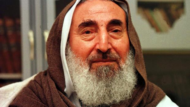 El fundaro y líder espiritual de Hamás, Ahmed Yassin, en una imagen de 1998