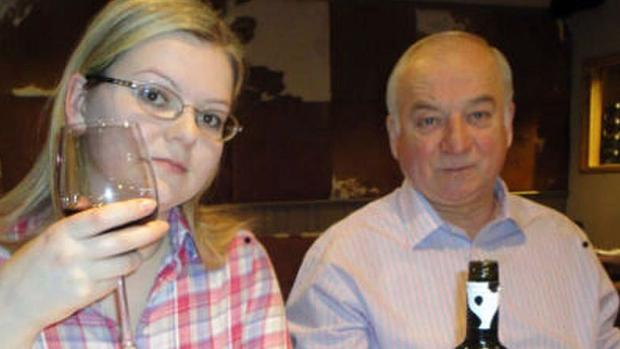 Yulia Skripal y su padre Sergei Skripal