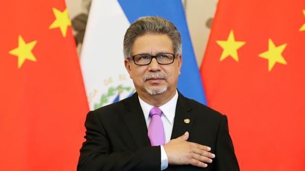 Salvador Sánchez, presidente salvadoreño