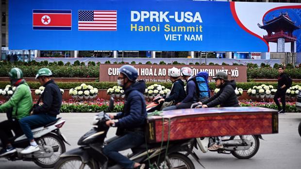 Un anuncio de la cumbre que se celebrará en Hanoi