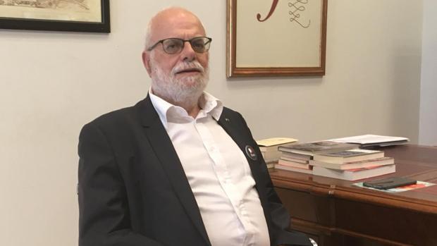 Abraham Bengio, presidente de la Comisión de Cultura de la Liga Internacional contra el Racismo y el Antisemitismo