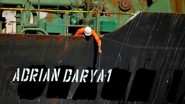 El petrolero iraní Adrian Darya