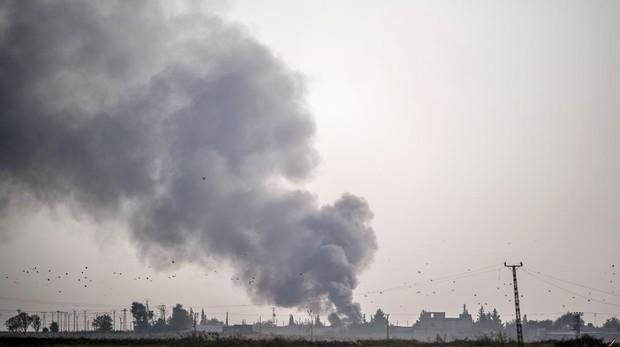 Una ciudad del norte de Siria atacada por Turquía