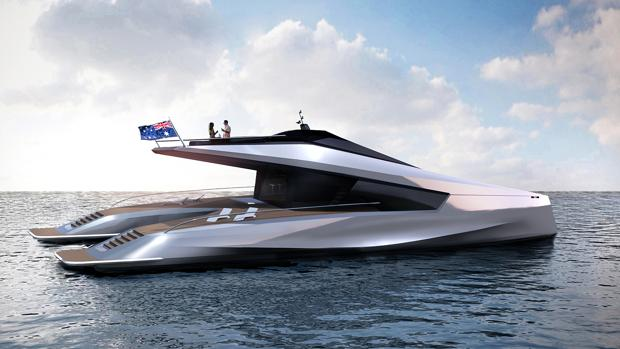 Catamarán de Peugeot Design Lab