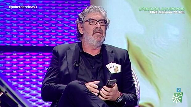 José Guerrero, 'Yuyu' en 'Póker de Reinas'.
