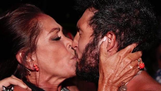 Omar Montes e Isabel Pantoja, tras 'Supervivientes'.