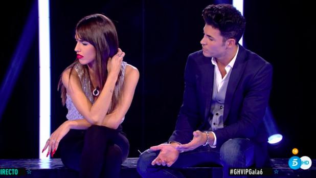 Kiko Jiménez y Sofía Suescun en GH VIP 7.
