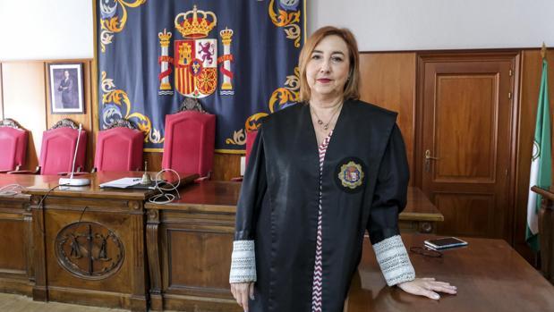Ana Villagómez, fiscal coordinadora Antidroga en Andalucía.