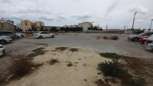 Los terrenos donde se ha proyectado la construcción del nuevo hospital.