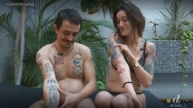 Simón Pérez y Silvia Charro, en su vídeo de presentación para participar en «Supervivientes»