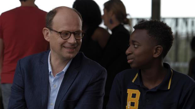 Denis Podalydès y el joven Abdoulaye Diallo protagonizan «El buen maestro»