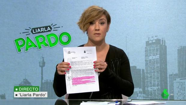 Cristina Pardo, con la denuncia contra la directora del geriátrico de Babilafuente en «Liarla Pardo»