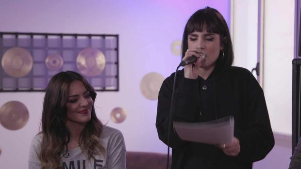 Natalia interpreta «La clave», un tema compuesto, entre otros, por Merche