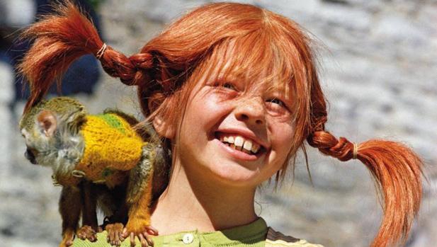 Pippi Calzaslargas, la más influyente creación de la autora Astrid Lindgren