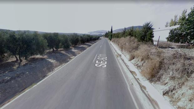 Vía donde ha tenido lugar el accidente