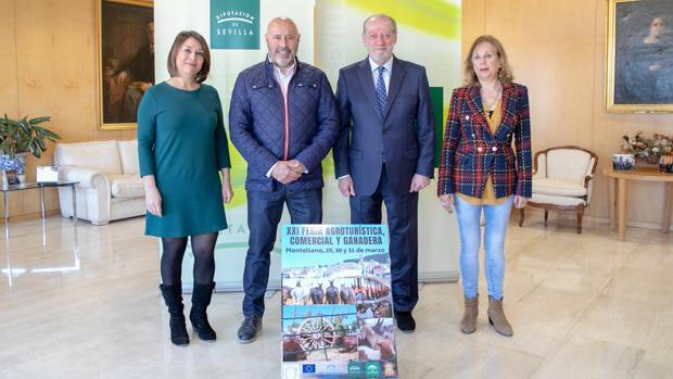 Presentación de la XXI Feria Agroturística Comercial y Agroganadera de Montellano