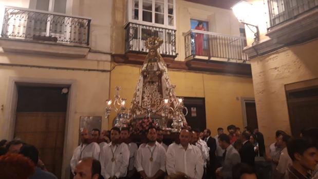 La Patrona, en la calle Santo Cristo camino del Monasterio de la Piedad