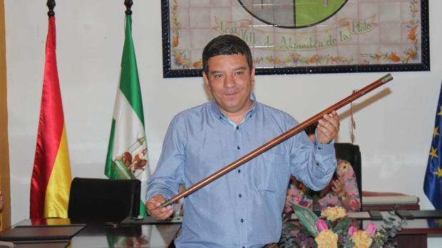 José Carlos Raigada (Ciudadanos), alcalde de Almadén de la Plata