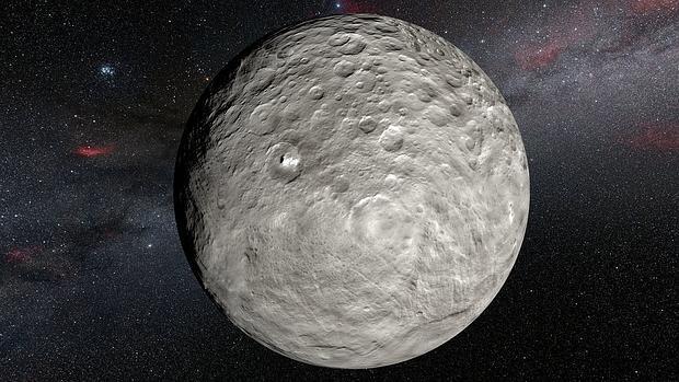 El planeta enano Ceres.