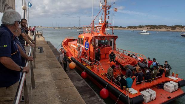 Salvamento Marítimo ha intervenido para el rescate