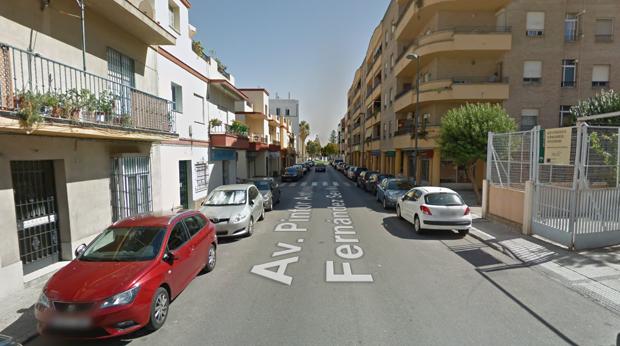 Lugar d0nde se ha registrado el accidente, en El Puerto de Santa María.
