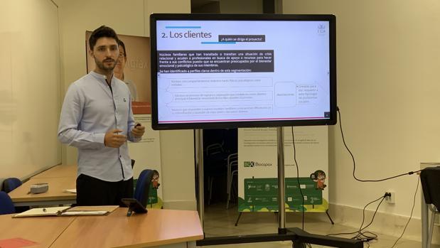 Presentación de uno de los proyectos diseñados para el Trabajo de Fin de Máster de Masterup.