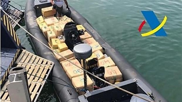 Trataban de alijar la droga en la zona de la desembocadura del río Guadalquivir, en Sanlúcar